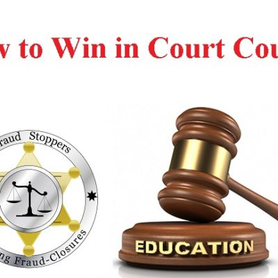 fraud stoppers how to win in court education program