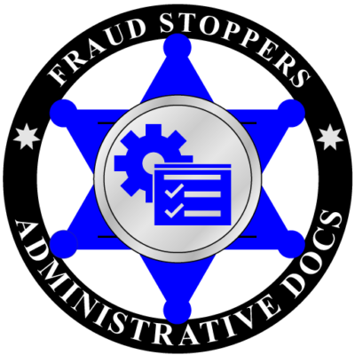 FRAUD STOPPERS Administrative Documents