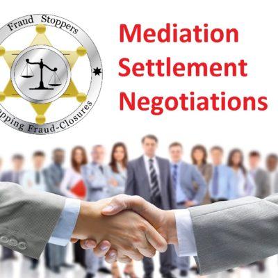 Mediation Settlement Negotiation