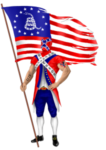The Faceless Patriot