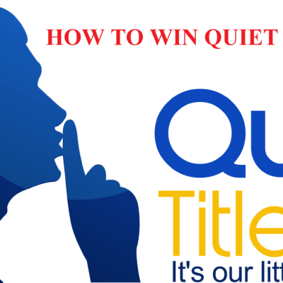 how to win quiet title dvds