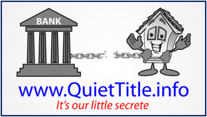 quiet title banner ad